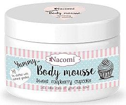 "Profumi e cosmetici Mousse corpo ""Sweet Raspberry Cupcake"" - Nacomi Body Mousse"