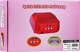 Profumi e cosmetici Lampada per manicure - Silcare Diamond LED CCFL UV 36W Lamp White