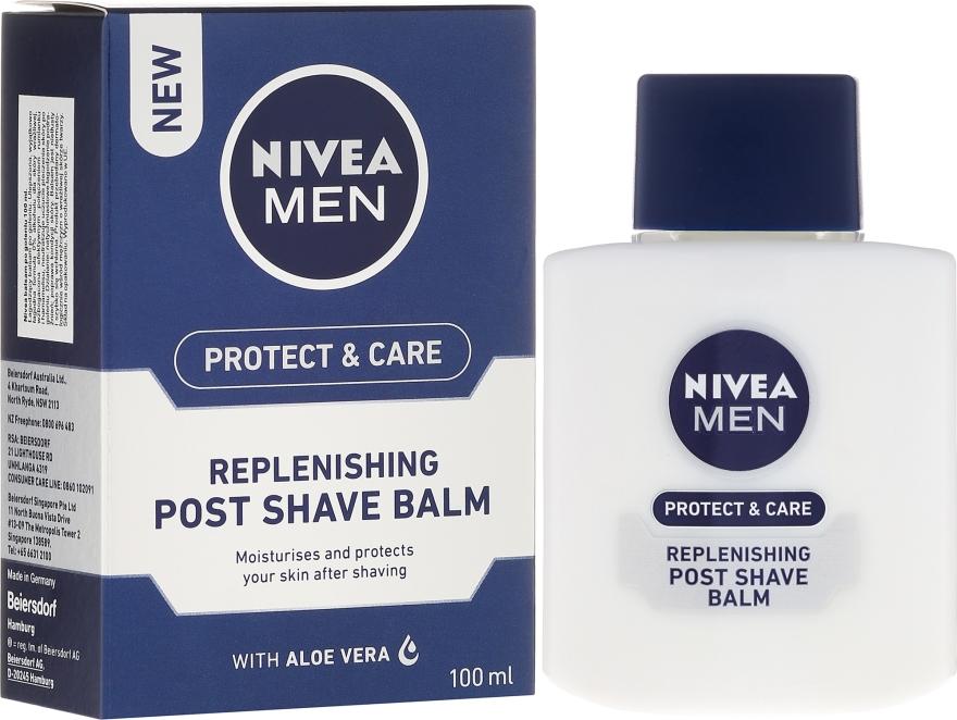 Balsamo dopobarba rigenerante - Nivea For Men Replenishing After Shaving Balm — foto N1