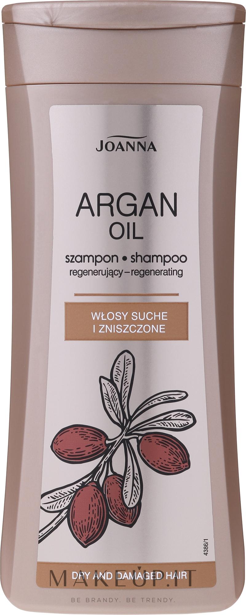 Shampoo con olio di argan - Joanna Argan Oil Hair Shampoo — foto 200 ml