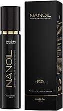 Profumi e cosmetici Olio per capelli ad alta porosità - Nanoil Hair Oil High Porosity