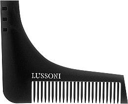 Profumi e cosmetici Pettine per barba - Lussoni BC 600 Barber Comb