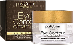 Profumi e cosmetici Crema-gel contorno occhi - PostQuam Eye Contour Cream Gel