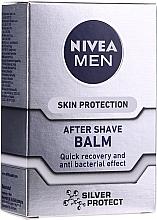 """Profumi e cosmetici Balsamo dopobarba """"Silver Protect"""" - Nivea For Men Silver Protect After Shave Balm"""