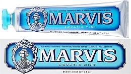 """Profumi e cosmetici Dentifricio con xilitolo """"Menta marina"""" - Marvis Aquatic Mint + Xylitol"""