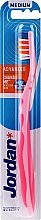 Profumi e cosmetici Spazzolino da denti Advanced,, rosa - Jordan Advanced Medium