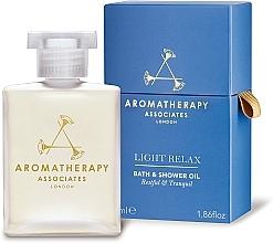Profumi e cosmetici Olio doccia rilassante - Aromatherapy Associates Light Relax Bath & Shower Oil