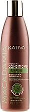 Profumi e cosmetici Condizionante capelli idratante - Kativa Macadamia Hydrating Conditioner
