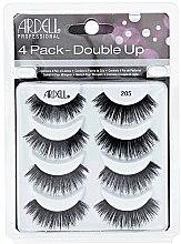 Profumi e cosmetici Set ciglia finte - Ardell Double Up 4 Pack 205 Lashes (8pz)