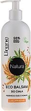 """Profumi e cosmetici Balsamo corpo """"Grano e olio di canapa"""" - Lirene Natura Eco Balm"""