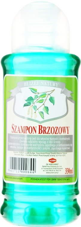 "Shampoo ""Betulla"" - Achem Popular Birch Shampoo"