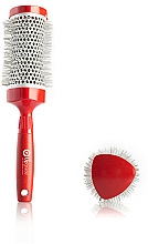 Profumi e cosmetici Spazzola Brushing, 53mm - Upgrade Triangular Concave Thermal Brush Red Angle