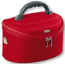 Profumi e cosmetici Beauty case grande ovale, 95085, rosso - Top Choice Oval Red