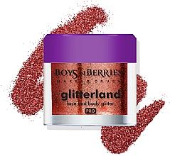 Profumi e cosmetici Glitter per viso e corpo - Boys'n Berries Glitterland Face and Body Glitter
