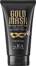 Profumi e cosmetici Maschera viso - Dr.EA Gold Mask Anti-Aging Peel-Off Mask
