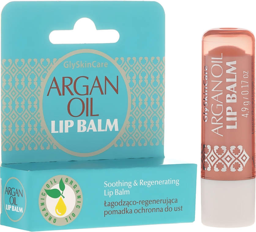 Balsamo labbra all'olio di argan - GlySkinCare Argan Oil Lip Balm