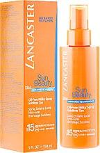 Spray corpo senza olio SPF 15 - Lancaster Sun Beauty Oil-Free Milky Spray SPF 15 — foto N1