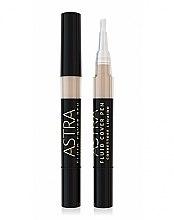 Profumi e cosmetici Correttore viso - Astra Make-up Fluid Cover Pen