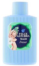 Profumi e cosmetici Talco per il corpo - Felce Azzurra Fresh Talcum Powder