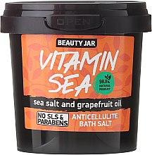 Profumi e cosmetici Sale da bagno anticellulite con olio di pompelmo - Beauty Jar Anticellulite Bath Salt