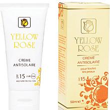 Profumi e cosmetici Crema solare SPF15 - Yellow Rose Creme Antisolaire SPF 15