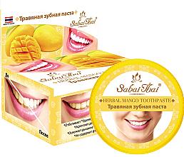 Profumi e cosmetici Dentifricio con mango - Sabai Thai Herbal Mango Toothpaste