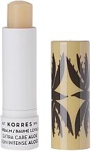 """Profumi e cosmetici Balsamo labbra """"Albicocca"""" - Korres Lip Balm Extra Care Aloe Stick"""