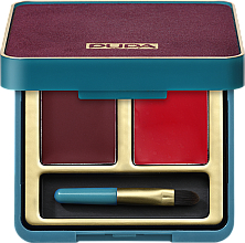 Profumi e cosmetici Palette di due rossetti - Pupa Retro Retro illusion Lip Palette