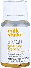 Profumi e cosmetici Olio di argan per capelli - Milk_Shake Argan Glistening Argan Oil
