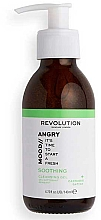 Profumi e cosmetici Gel detergente viso - Revolution Skincare Angry Mood Soothing Cleansing Gel