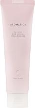 Profumi e cosmetici Schiuma viso con olio essenziale di rosa - Aromatica Rose Absolute Cream Cleanser