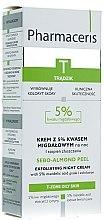 Profumi e cosmetici Crema-peeling con acido di mandorle al 5% - Pharmaceris T Sebo-Almond-Peel Exfoliting Night Cream