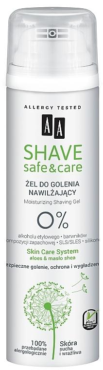 Gel da barba - AA Shave Safe&Care