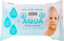 Profumi e cosmetici Salviettine idratanti per neonati - Beauty Formulas Aqua Baby Wipes