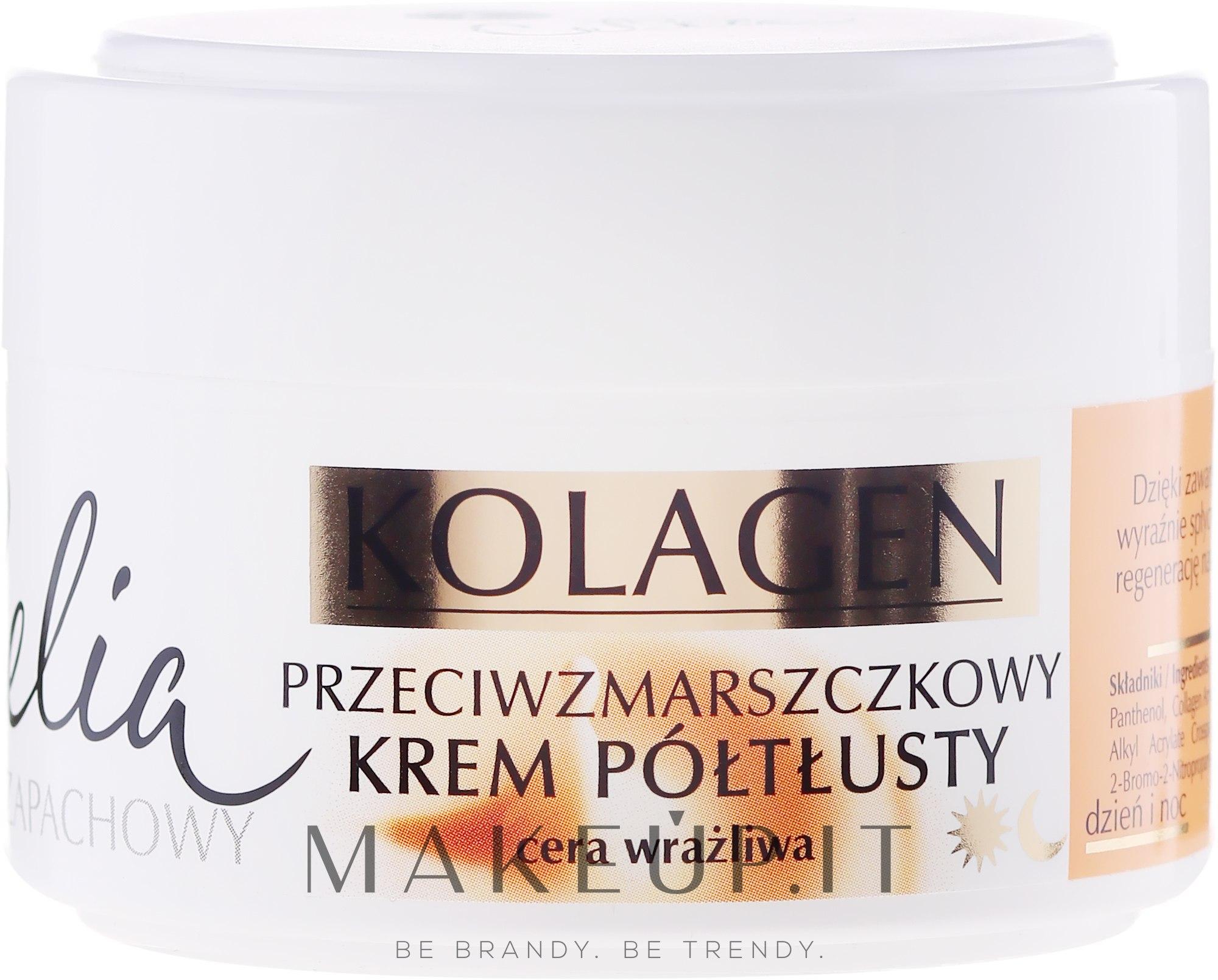 Celia Collagen Cream - Crema antirughe per pelli sensibili..