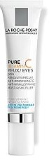 Profumi e cosmetici Cura complessa antietà per la pelle sensibile del contorno occhi - La Roche-Posay Redermic C Anti-Wrinkle Firming Moisturising Filler