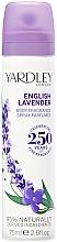 Profumi e cosmetici Spray corpo rinfrescante - Yardley English Lavender Refreshing Body Spray
