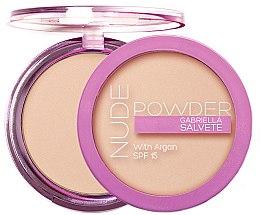 Profumi e cosmetici Cipria - Gabriella Salvete Nude Powder SPF15