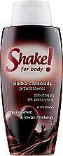 "Profumi e cosmetici Gel doccia ""Cioccolato"" - Shake for Body Shower Gel Chocolate"