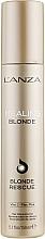Profumi e cosmetici Crema ristrutturante per capelli decolorati - L'anza Healing Blonde Rescue