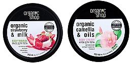 Profumi e cosmetici Set - Organic Shop (b/mousse/250ml + b/cr/250ml)