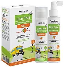 Profumi e cosmetici Set - Frezyderm Lice Free Set (sh/125ml + h/lot/125ml)
