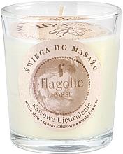 "Profumi e cosmetici Candela da massaggio in bicchiere ""Fortifying coffee"" - Flagolie Coffee Firming Massage Candle"