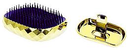 Profumi e cosmetici Spazzola per capelli, dorata - Twish Spiky 4 Hair Brush Diamond Gold