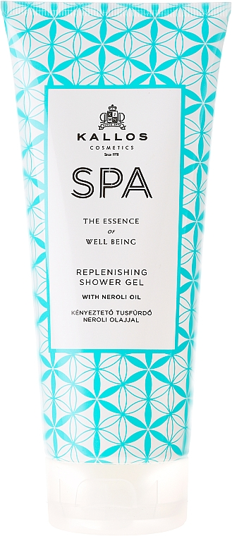 Gel doccia rigenerante - Kallos Cosmetics Spa Replenishing Shower Gel
