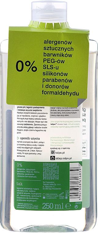 Shampoo per capelli grassi - Tolpa Dermo Hair Deep Cleansing Shampoo — foto N6