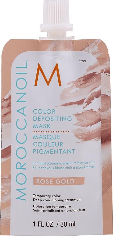 Maschera tonificante per capelli, 30 ml - MoroccanOil Color Depositing Mask