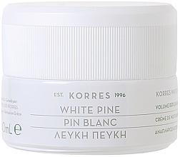 Profumi e cosmetici Crema per la correzione delle rughe profonde da notte - Korres White Pine