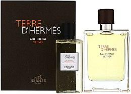Profumi e cosmetici Terre D'Hermes Eau Intense Vetiver - Set (edp/100ml + sh/gel/100ml)