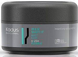 Profumi e cosmetici Pasta modellante opaca per una tenuta leggera - Kadus Professional Men Shift It Matt Clay
